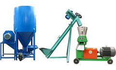 Poultry Feed Machine For Producing Feed Pellets