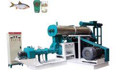 Wet Type Floating Fish Feed Extruder Machine