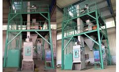 Poultry Feed Pellet Production Line Manufacturing Cattle Chicken Feed
