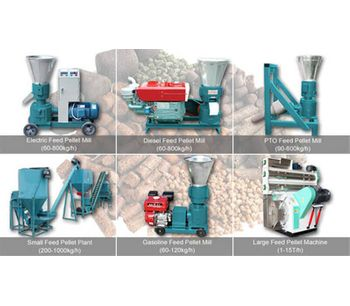 Feed Processing Plant Equipment For Animal Feed Pellets