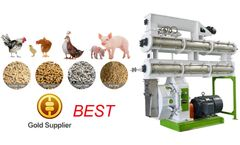 Industrial Livestock Feed Pellet Mill Production Machine On Sale
