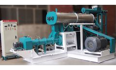 Fish Feed Extruder Machine Can Make Floating Fish Food Pellets