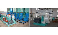 The Process Flow Of Pine Biomass Pellet Fuel Wood Pellet Machine On Sale