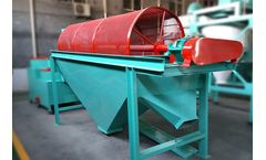 Rotary Sieving Machine Used In The Organic Fertilizer Production Line