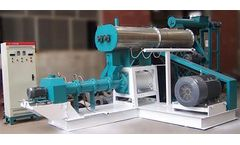 Do You Know Tilapia Fish Feed Production Line Large Fish Feed Extruder?