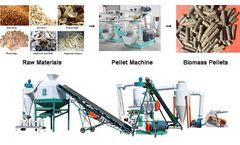 Biomass Pellet Fuel Is A Renewable New Energy Wood Pellet Machine