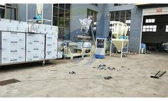 Fusmar - Model fish feed production line - wet fish feed production line