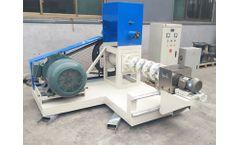 Fusmar - Model Fish Feed Machine - Fish Feed Machine Introduction Fish Feed Extruder Machine Manufacturer