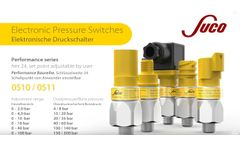 Electronic Pressure Switches (Hex24)