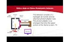 Flame Photometric Detector.| Chromatography | Analytical Chemistry Video