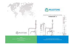 StoneChlor - Model S - Electrochlorination System Brochure