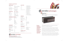 Kingfisher - Model Plus - Remote Telemetry Units (RTU) Brochure