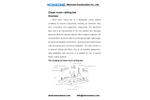 Wonzone - Model T Bar - Clean Room Ceiling Grid System Brochure