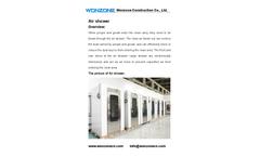 Wonzone - Air Shower Brochure