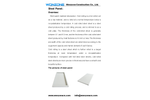 Wonzone - Clean Room Steel Panel  Brochure