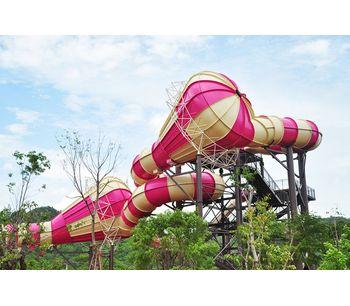 Haisan - Tantrum Alley Park Slides