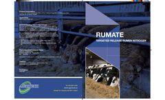 Agritech - Model Rumate - Targeted Release Nitrogen - Brochure