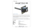 Matseco - Model ID AC-100 - Ventilation System  Brochure