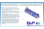 Wastewater Reuse - Containerised MBR Units - Brochure