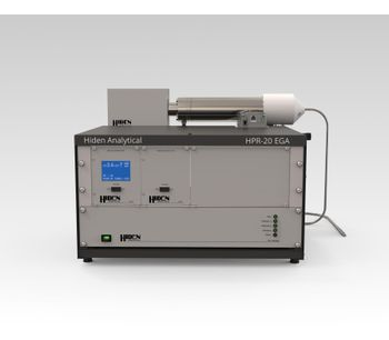 Hiden - Model HPR-20 EGA - Compact Bench-Top Gas Analysis System for Evolved Gas Analysis in Thermogravimetric Mass Spectrometry, TGA-MS