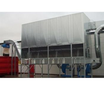 Aagaard - Model Type ARF - DLK - DHLK - DXLK - Conveyor Filter