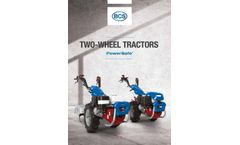 PowerSafe Two-Wheel Tractors - Brochure