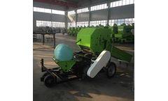 Henan-Faywoll - Model 9HSN-520L - Silage Machine Baler - Semi-Automatic Baling Wrapping Machine