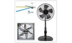 Industrial Fan,Exhaust Fan and Central Air Conditioning Which is more Suitable for the Factory