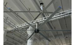 The Big Air Industrial Fan - A Good Helper for Cooling the Factory Floor