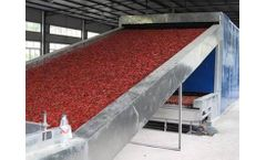 Microwave Drying Equipment  for  What is the difference between natural air-dried chili and dried chili?