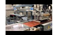 Experia Solution: M1 automatic tabber stringer machine Video