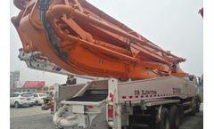 Zoomlion 52 Meters Concrete Boom Pump 2013