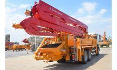 36m Concrete Pump Truck
