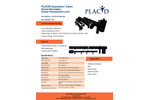 PLACID Impedance Tubes Sound Absorption Sound Transmission Loss - Datasheet