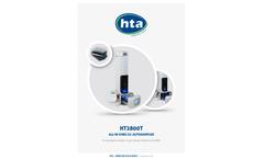 Zef-Scientific - Model HT2800T - Headspace & Liquid Autosampler Brochure
