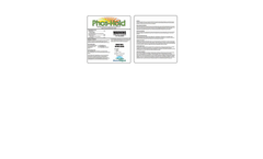 Phos-Hold - Phosphorus Management Aid Brochure