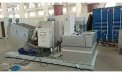 Yixing-Holly - Model HLDC - Mobile Sludge Dewatering System