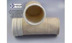 PTFE laminated acrylic dust collector filter bags from KoSa Environmental,Filter bag,Liquid Filter Housings,kosafiltration.com
