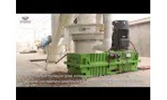 New Design Wood Pellet Machine Video