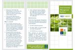 ISO 14001:2015 Environment Management Brochure