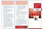 BS OHSAS 18001:2007 Health & Safety Brochure