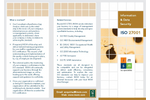ISO 27001:2013 Information & Data Security Brochure