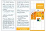 ISO 17025:2005 Laboratory Competence Brochure