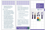 ISO 9001 Quality Management Systems Brochure