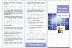 ISO 20000-1: 2011 Information Technology – Service Management Brochure
