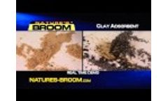 Nature`s Broom - The Instant Spill Solution - Video
