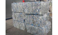 plastics pet bottles - Model scrap pet bales - PET bottles scrap in bales, pet bales, scrap pet bales