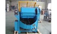 Rotary Barrel Tumbling Machine for Metal Parts Deburring and Polishing Video