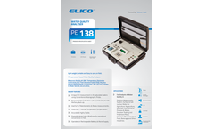 Elico - Model PE 138 - Water Quality Analyser Brochure