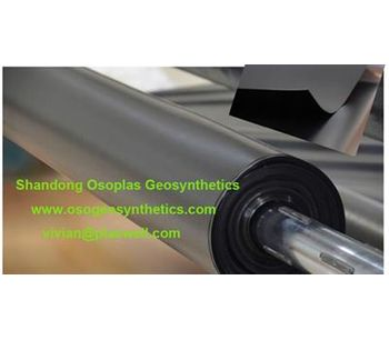 HDPE Geomembrane Liner, 0.5mm, smooth and textured